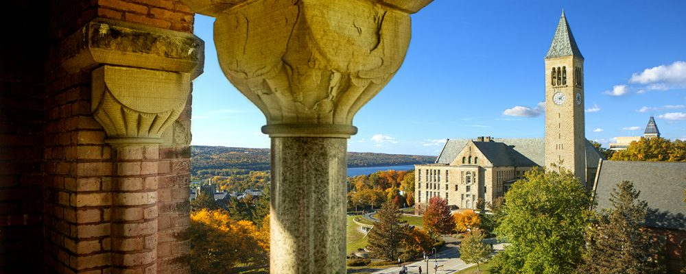 McGraw Tower and Cayuga Lake