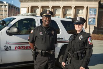 Two Cornell University Police Department officers