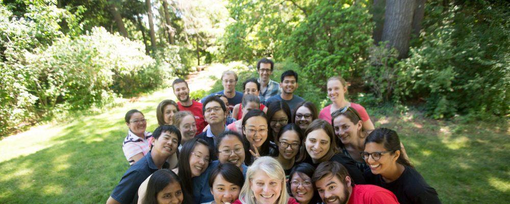 Associate Dean Jan Allen and Writing Boot Camp participants