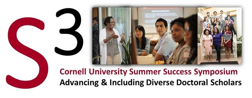 Summer Success Symposium Logo with pictures of students