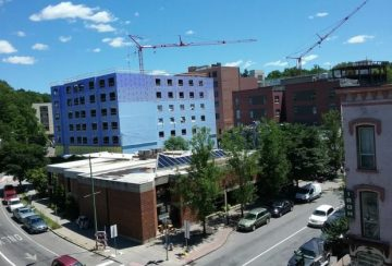 Construction in Ithaca
