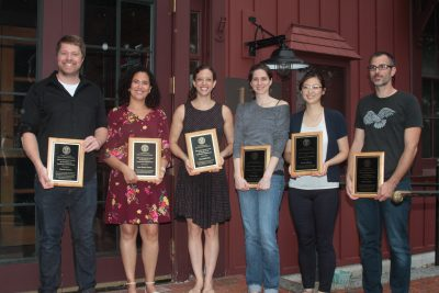 Postdocs with awards
