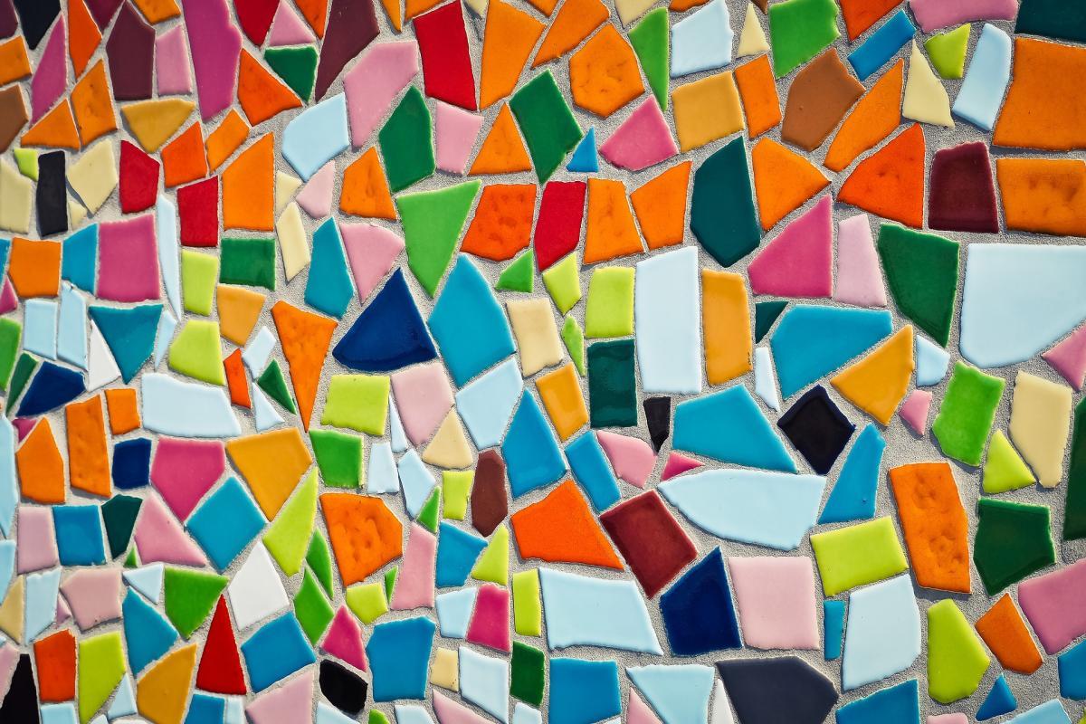 "SPARK Talks mosaic representing 2018 theme, ""Diversity"""