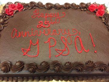 GPSA 25th Anniversary cake