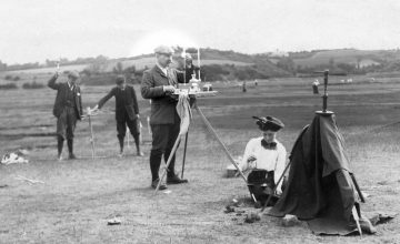 George Atkinson in the field