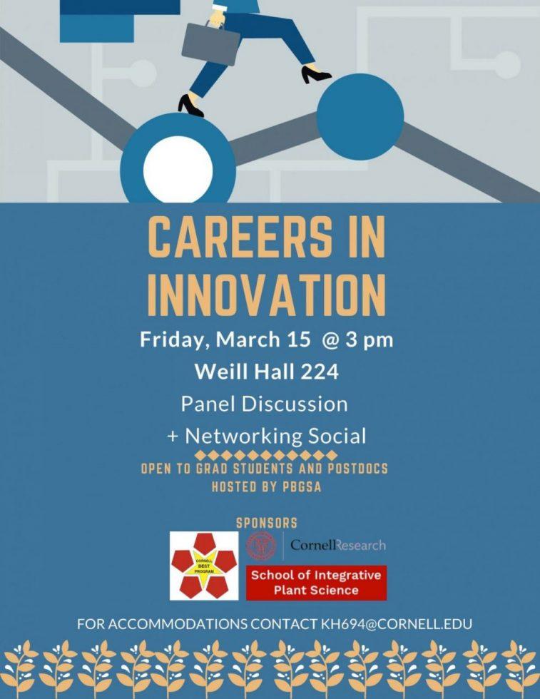 BEST Careers in Innovation flyer