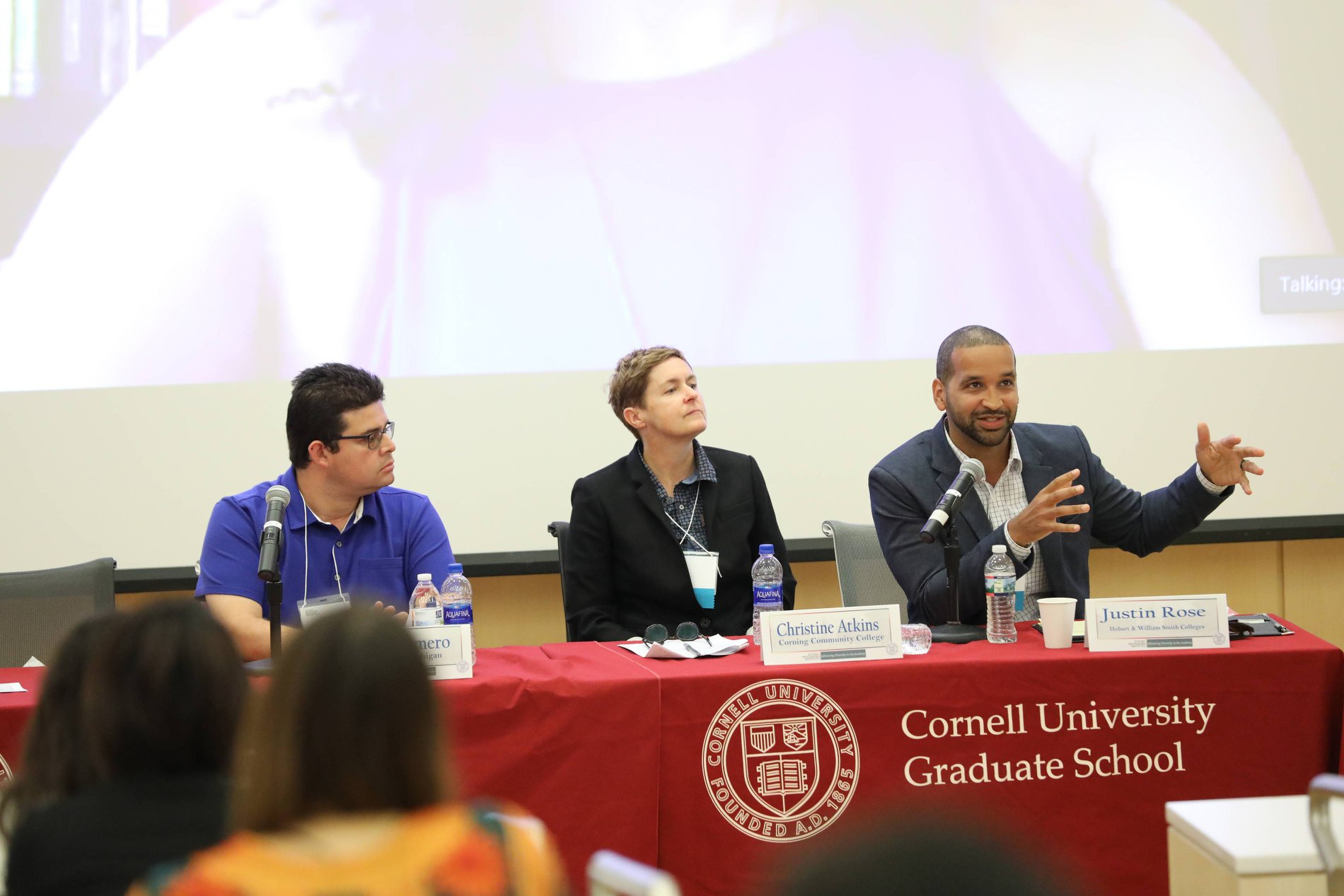 Panelists at the Future Professors Institute 2018