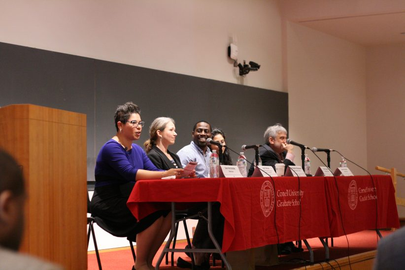 Five panelists at the Summer 2018 Pathways to Success Symposium