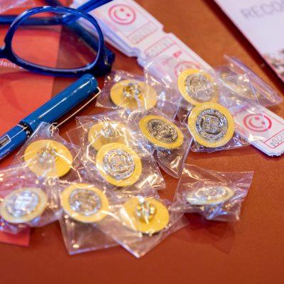 Cornell-GPSA keepsake pins