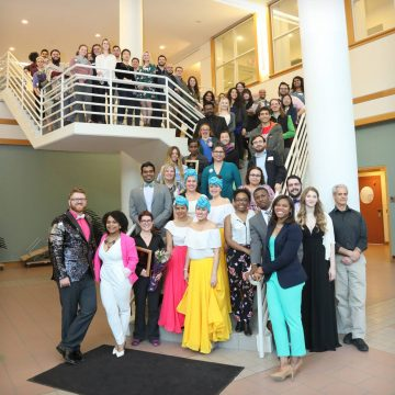 Spring Recognition Banquet attendees