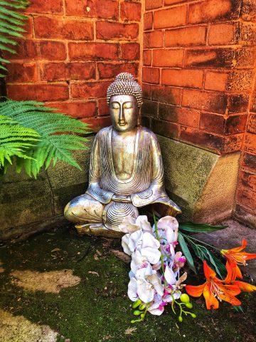 Statue outside Sage Chapel