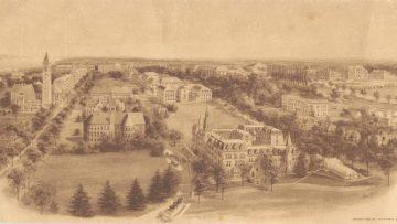 Cornell University in 1909