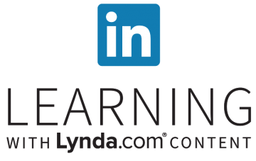 LinkedIn Learning with Lynda.com content logo