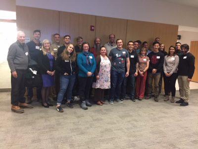 Student veterans at 2019 Veterans Dinner