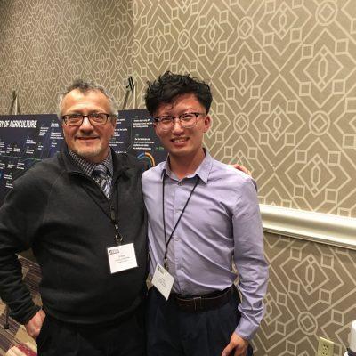 Liang Cheng and Dr. Antonio DiTommaso