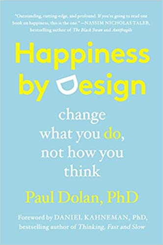 Book cover for Happiness by Design