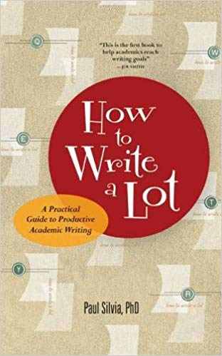 Book cover for How to Write a Lot