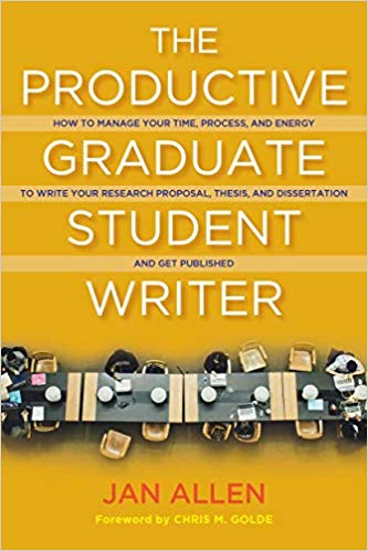 Book cover for Productive Graduate Student Writer