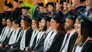 Members of the inaugural Master of Public Health class