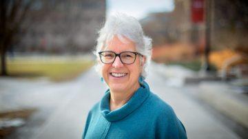 Barbara A. Knuth, dean of the Graduate School