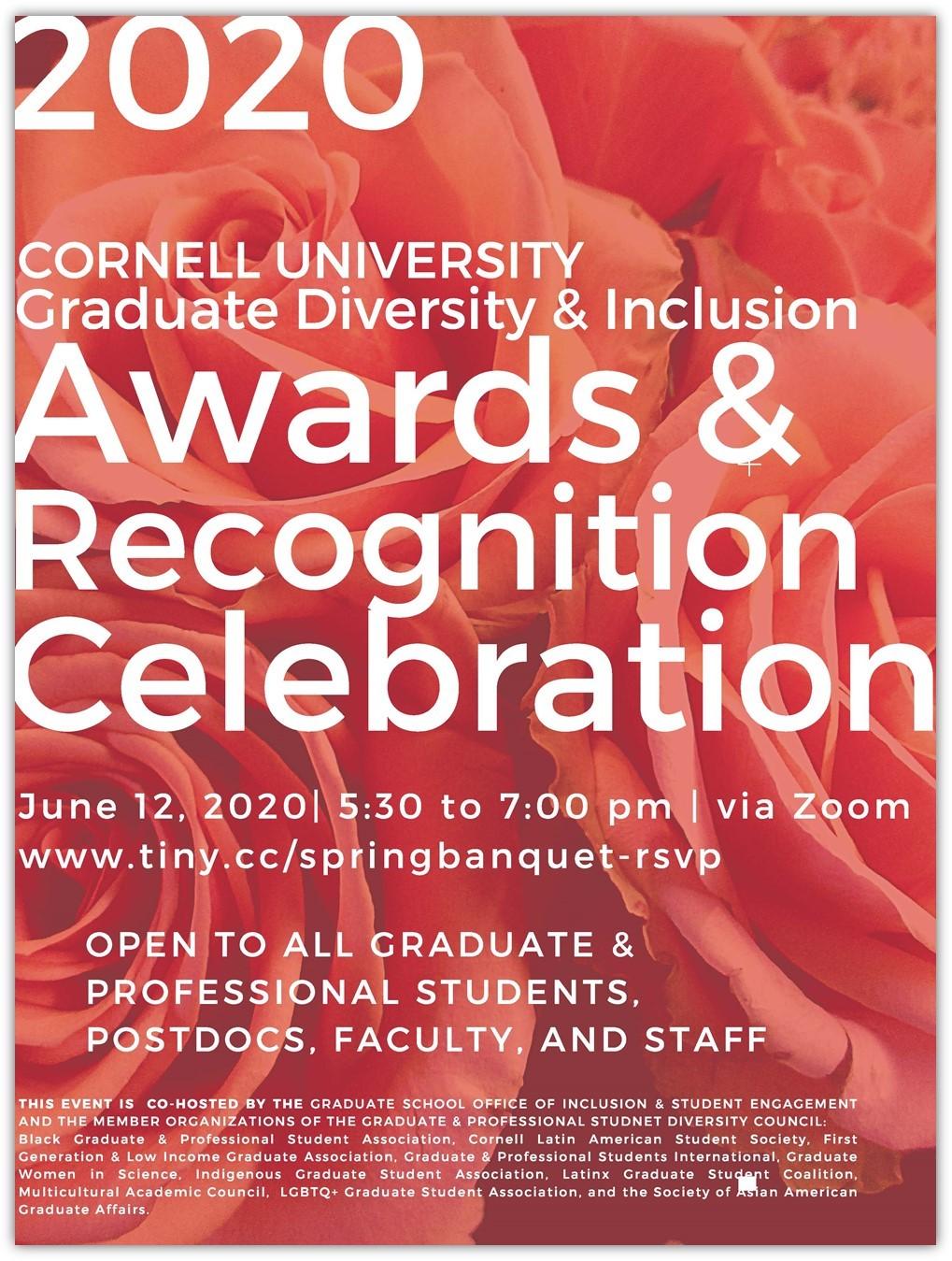 2020 Grad Diversity & Inclusion Award & Recognition Celebration