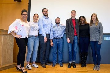 Building Allyship Series organizers and presenters at October 2019 event