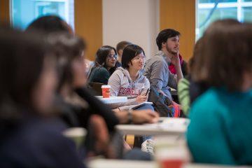 Graduate students and postdocs at a P2S Symposium