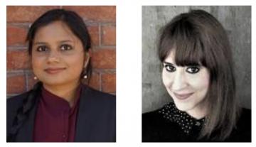 Yagna Nag Chowdhuri and Valeria Dani