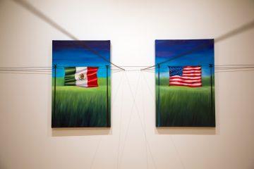 Paintings of flags