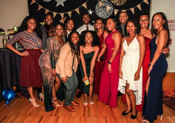 Students at the 2019 annual Renaissance Ball