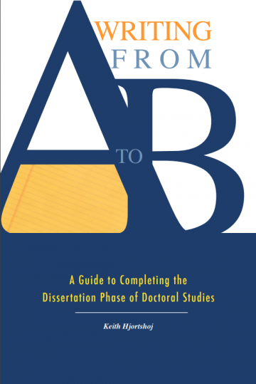 Writing from A to B book cover