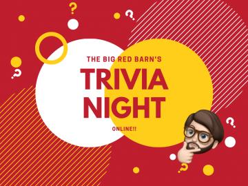 Big Red Barn's Trivia Night Online!