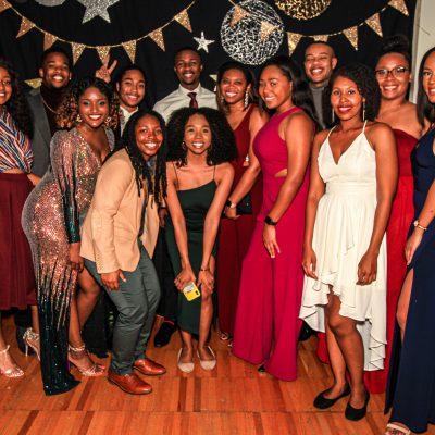 Students at the 2019 Renaissance Ball