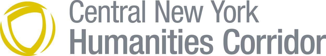 Central New York Humanities Corridor logo including a golden circle