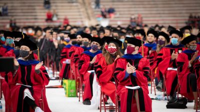 Doctoral graduates at 2021 May Commencement