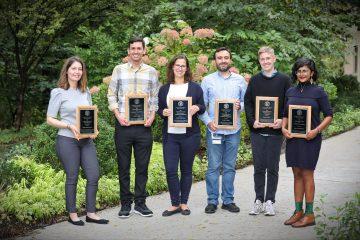 2021 Postdoc Achievement Award recipients
