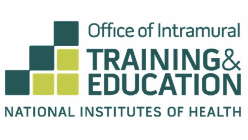 Office of Intramural Training and Education logo with staircase and National Institutes of Health